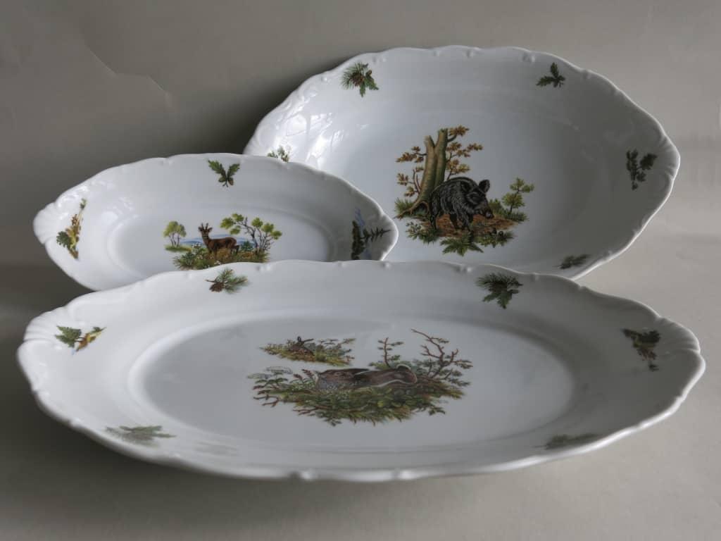 Platten Ofelie Jagdmotive